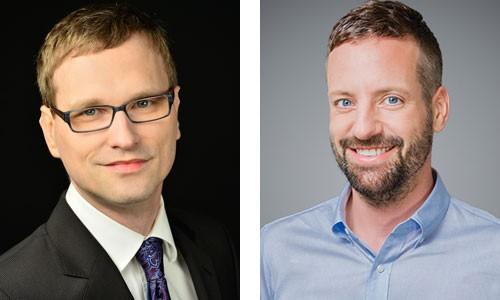 Timo Müller und Andreas Wroblewski