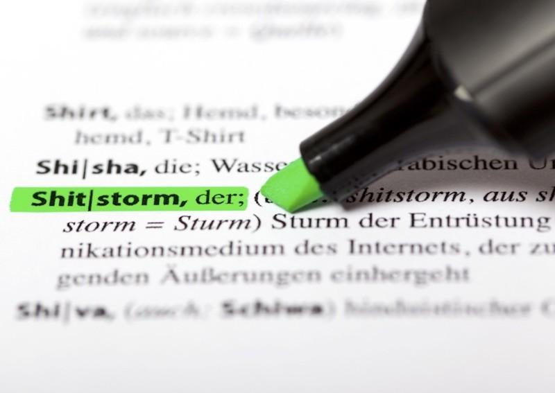 Shitstorm Definition